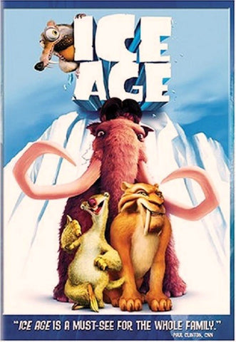 Ice Age DVD (Single Disc) (Free Shipping)
