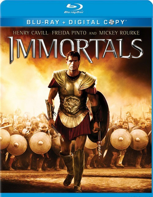 Immortals Blu-Ray + Digital Copy (2-Disc Set) (Free Shipping)