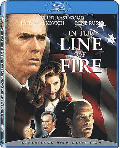 In The Line Of Fire Blu-Ray DVD