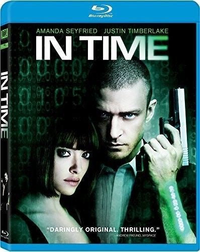 In Time Blu-Ray (Free Shipping)