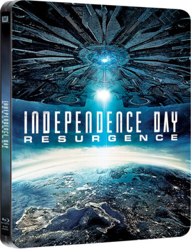 Independence Day: Resurgence Steelbook Blu-ray + Digital Copy 2-Disc (Free Shipping)