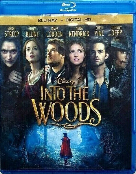 Into The Woods Blu-ray + Digital HD (Free Shipping)