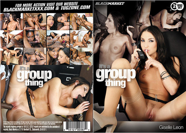 It's A Group Thing 1 (2-Disc Set) - Black Market Adult DVD (Free Shipping)