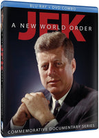 JFK - A New World Order - Commemorative Documentary Series Blu-Ray + DVD (3-Disc) (Free Shipping)