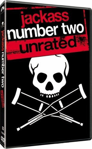 Jackass Number Two DVD (Widescreen Unrated) (Free Shipping)