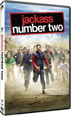 Jackass Number Two DVD (Fullscreen Rated) (Free Shipping)