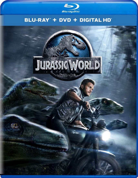 Jurassic World Blu-Ray (Free Shipping)