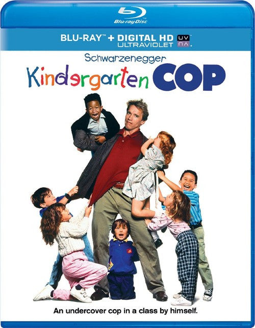 Kindergarten Cop Blu-ray + DIGITAL HD with UltraViolet (Free Shipping)