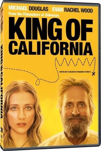 King Of California DVD (Free Shipping)