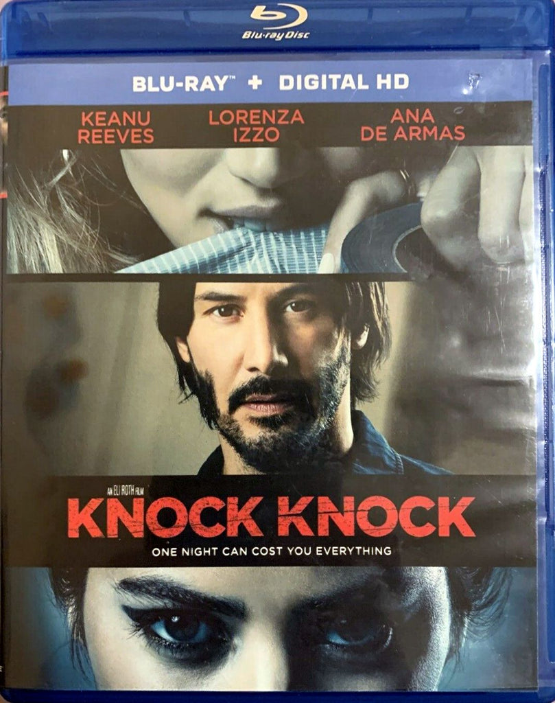 Knock Knock Blu-Ray Digital HD (2-Disc Set) (Free  Shipping)