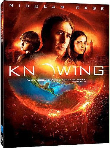 Knowing DVD (Free Shipping)