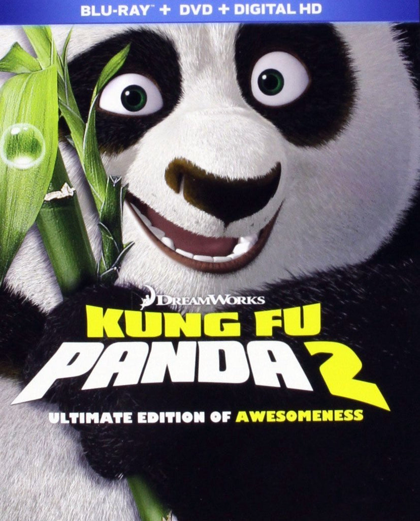 Kung Fu Panda 2 - Ultimate Edition Of Awesomeness Blu-Ray + DVD + Digital HD (3-Disc Set) (Free Shipping)