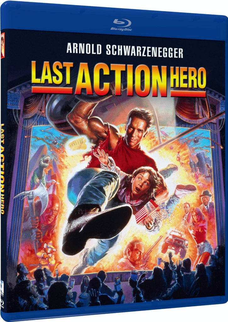 Last Action Hero Blu-Ray (Free Shipping)