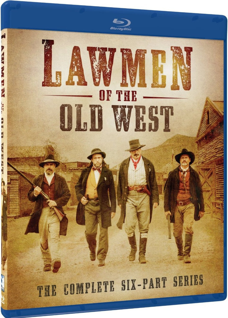 Lawmen Of The Old West Blu-Ray (Free Shipping)