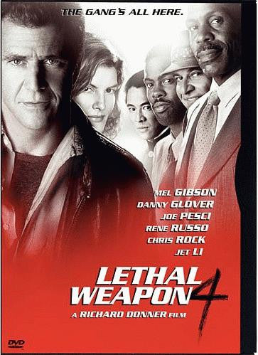 Lethal Weapon 4 DVD (Special Edition) (Free Shipping)