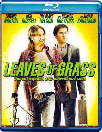 Leaves Of Grass Blu-Ray (Free Shipping)