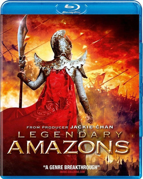 Legendary Amazons Blu-Ray (Free Shipping)