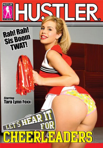 Let's Hear It For Cheerleaders - Hustler Adult DVD (Free Shipping)