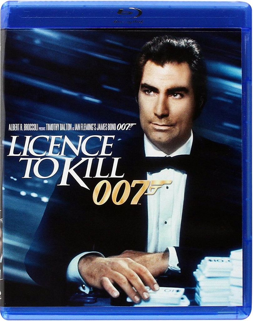 Licence To Kill Blu-Ray (Free Shipping)