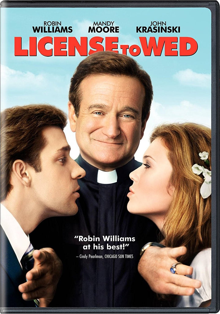 License To  Wed DVD (Free Shipping)