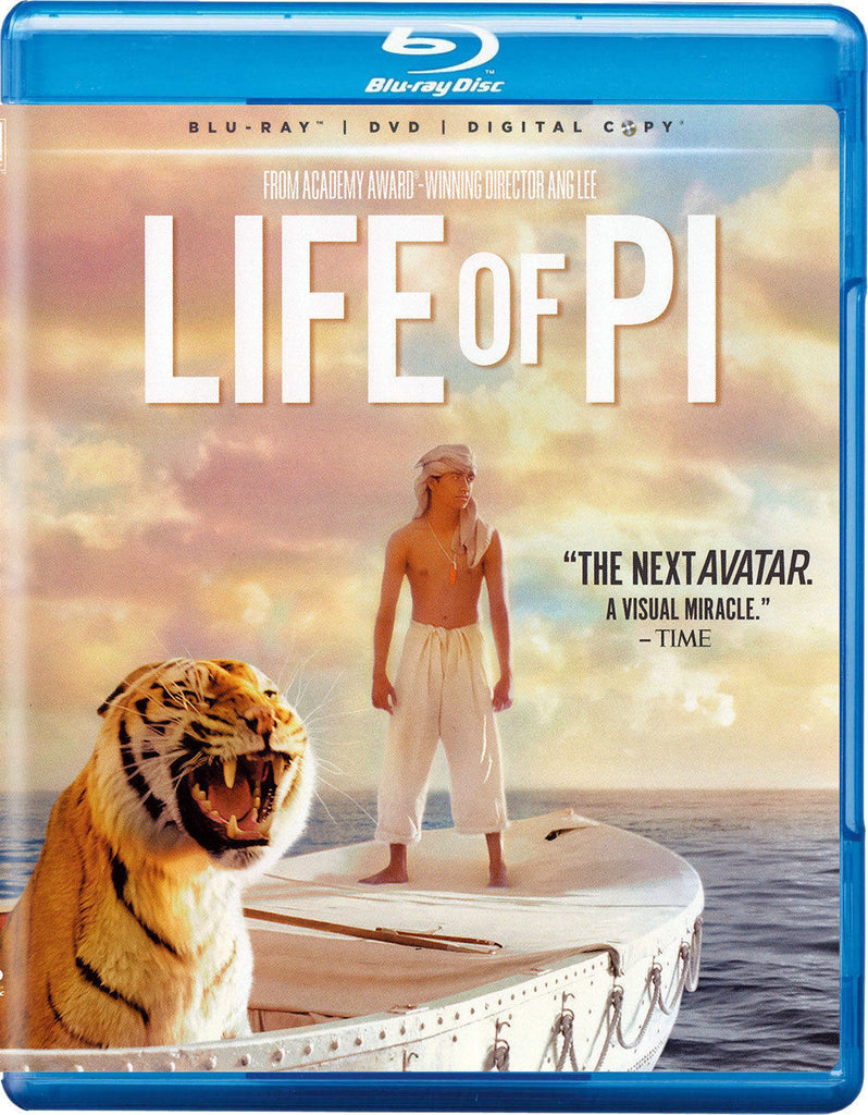 Life Of Pi Blu-Ray + DVD + Digital Copy (2-Disc Set) (Free Shipping)
