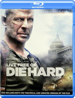 Live Free Or Die Hard Blu-Ray (Free Shipping)