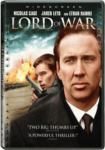 Lord Of War DVD (Widescreen) (Free Shipping)