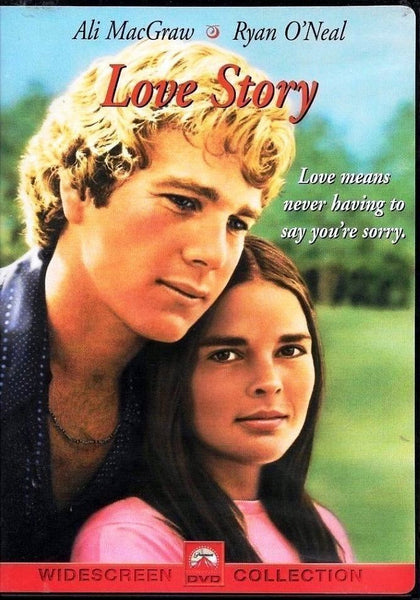 Love Story DVD (Widescreen Collection) (Free Shipping)
