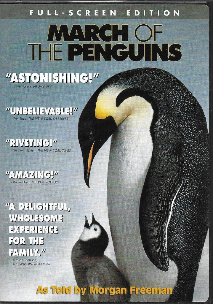 March Of The Penguins DVD (Fullscreen) (Free Shipping)