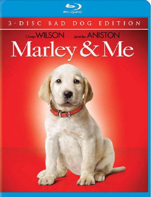Marley & Me Blu-Ray (3-Disc Bad Boy Edition)