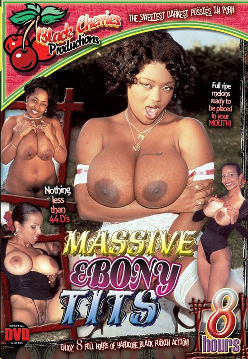 Massive Ebony Tits DVD (Adult 8 Hours) (Free Shipping)