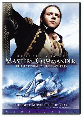 Master And Commander - The Far Side Of The World DVD (Widescreen) (Free Shipping)