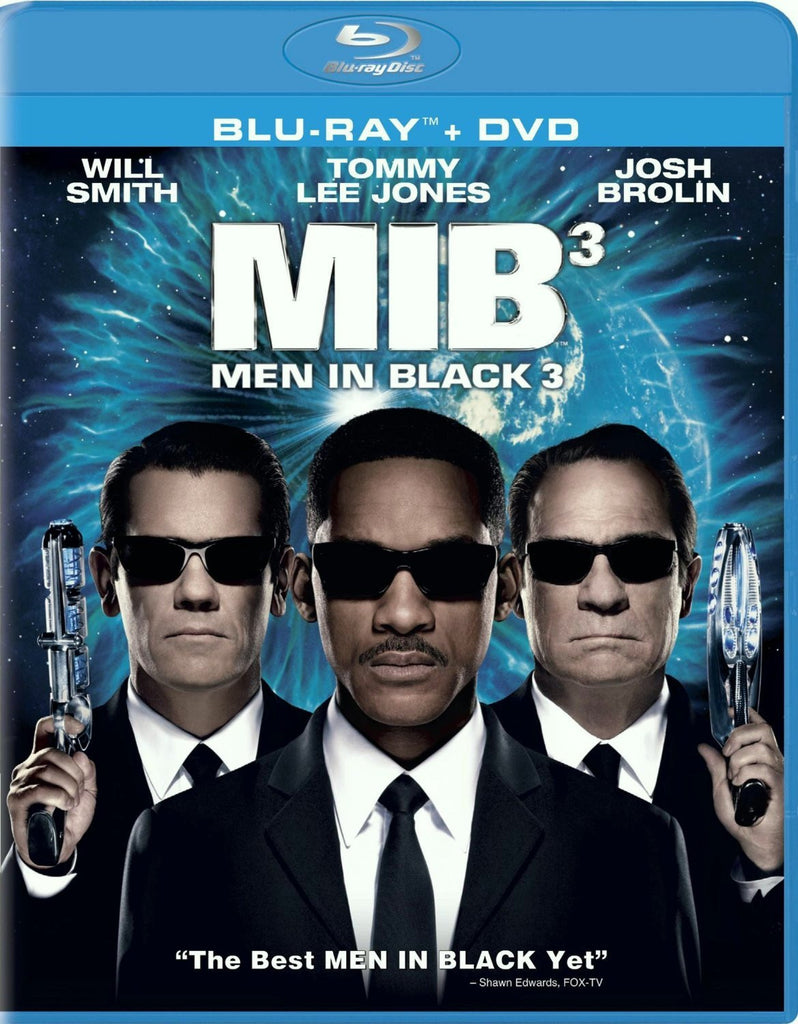 Men In Black 3 Blu-ray + DVD + UltraViolet (2-Disc Set) (Free Shipping)