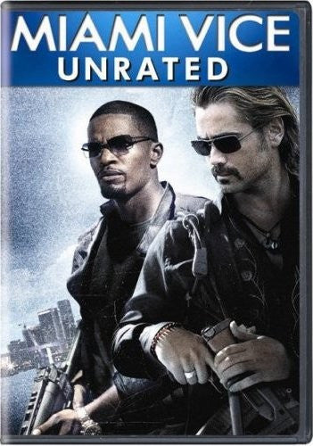 Miami Vice DVD (Unrated Director's Edition) (Free Shipping)