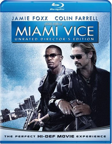 Miami Vice Blu-Ray (Unrated Director's Edition) (Free Shipping)