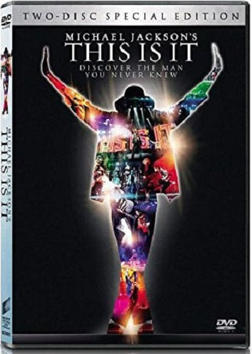 Michael Jackson - This Is It DVD (Exclusive Limited 2-Disc Edition) (Free Shipping)