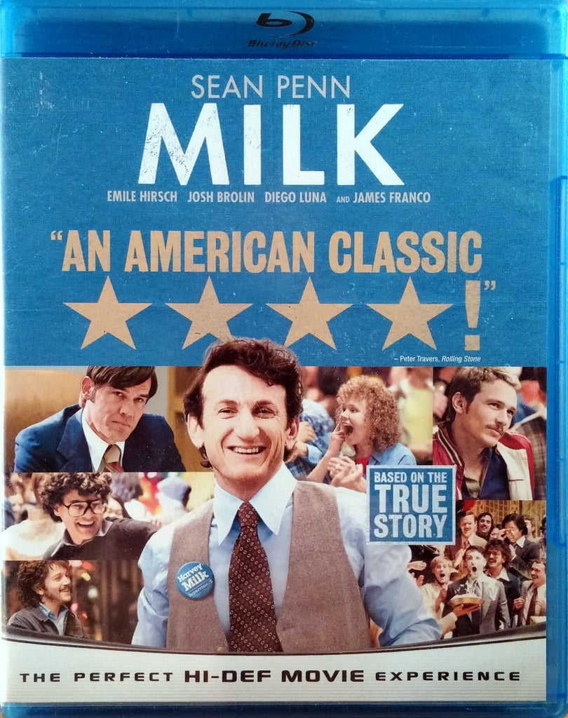 Milk Blu-Ray (Free Shipping)