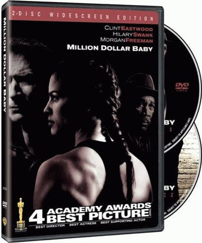 Million Dollar Baby DVD (2-Disc Widescreen) (Free Shipping)