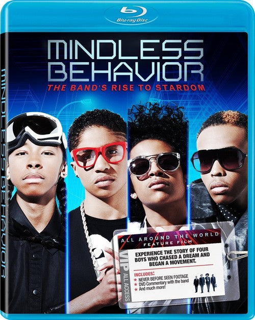 Mindless Behavior - All Around the World Blu-Ray DVD (Free Shipping)