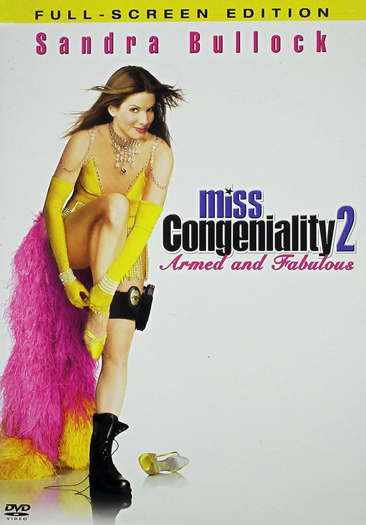 Miss Congeniality 2 - Armed And Fabulous DVD (Fullscreen) (Free Shipping)
