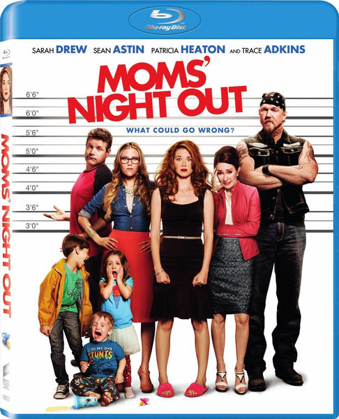 Moms' Night Out Blu-Ray (Free Shipping)