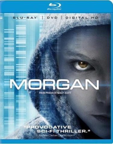 Morgan Blu-Ray + DVD + Digital HD (2-Disc Set) (Free Shipping)