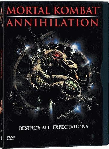 Mortal Kombat - Annihilation DVD (Free Shipping)