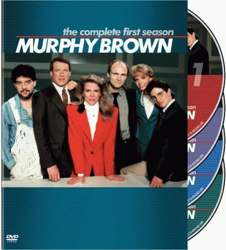 Murphy Brown - The Complete First Season 1 DVD (4-Disc Box Set) (Free  Shipping)