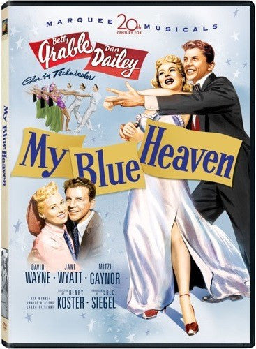 My Blue Heaven DVD (Fox 20th Century Marquee Musicals) (Free Shipping)