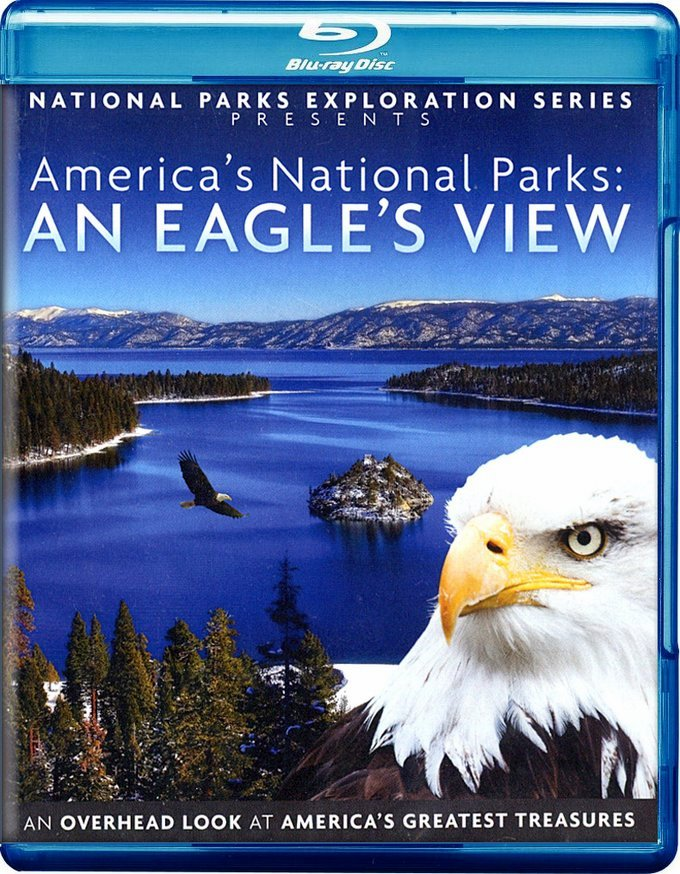 National Parks Exploration Series - America's National Parks - An Eagle's View Blu-Ray (Free Shipping)