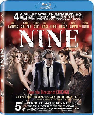 Nine Blu-Ray (Free Shipping)