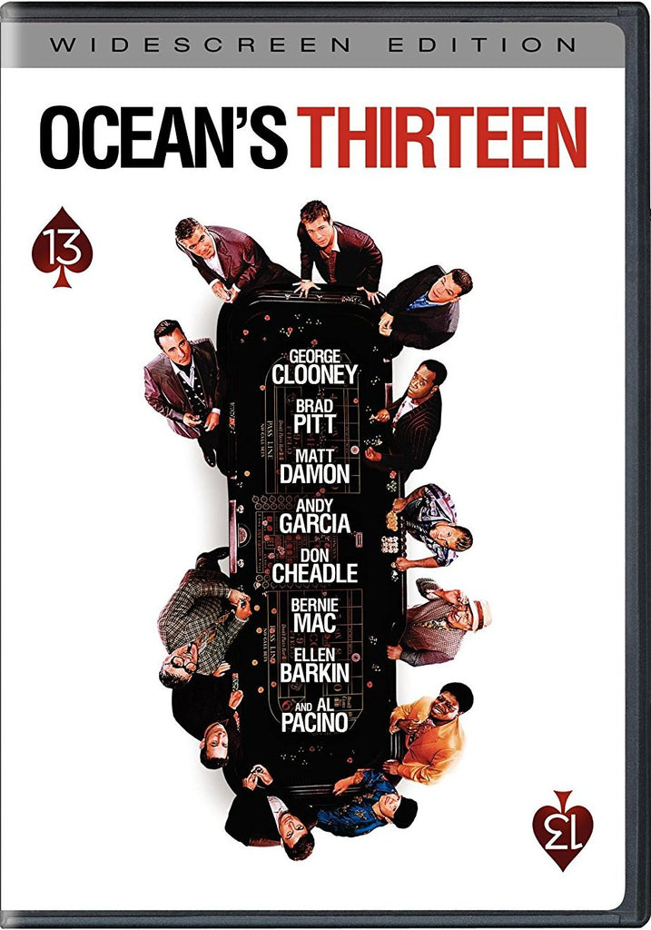 Ocean's Thirteen DVD (Widescreen Edition) (Free Shipping)