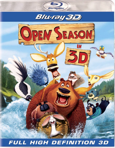 Open Season In 3D Blu-Ray (Free Shipping)