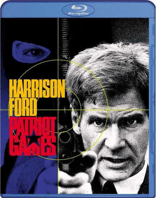 Patriot Games Blu-Ray (Free Shipping)